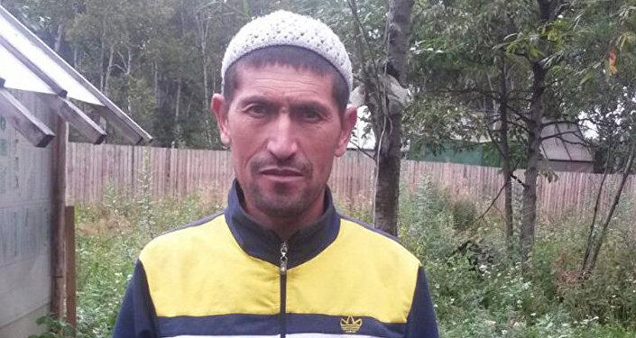 Гражданин Кыргызстана Саибджан Турсумуратов, который участвовал при спасении 14-летнего подростка в Камчатском крае.