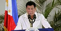 Филиппин президенти Родриго Дутертегенин архивдик сүрөтү