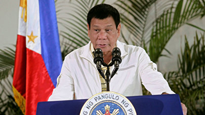 Филиппиндин президенти Родриго Дутерте. Архив