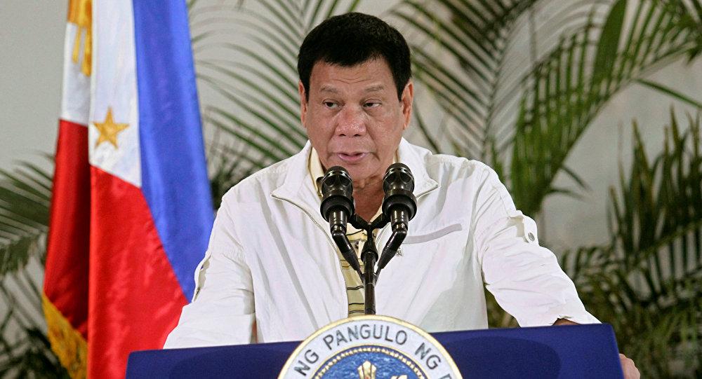 Филиппиндин президенти Родриго Дутертенин архивдик сүрөтү