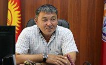 Бывший директор муниципального предприятия Тазалык Рысбек Сарпашев. Архивное фото