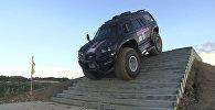 Вездеход-амфибия Викинг-29031 проехал по лестнице во время тест-драйва