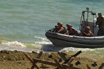 Кавказ-2016: высадка морского десанта на завершающем этапе учений