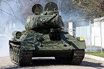 Восстановленный специалистами танк Т-34 (1943 года выпуска). Архивное фото