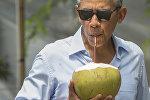 Архивное фото президента США Барака Обамы во время отпуска