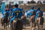 Игроки сборной Казахстана по кок-бору. Архивное фото