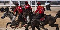 Кыргызстандын көк бөрү боюнча улуттук курама командасы. Архивдик сүрөт
