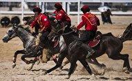 Сборная Кыргызстана по кок-бору. Архивное фото