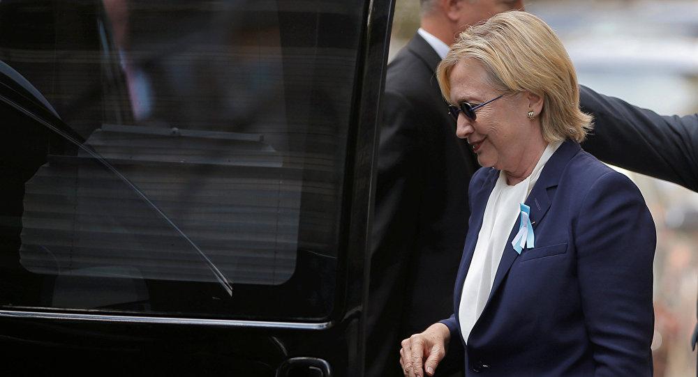 Медработники обнаружили уХиллари Клинтон пневмонию