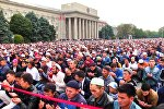 LIVE: Бишкектеги айт намаз