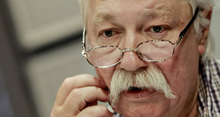 Мультипликатор Эдуард Назаров. Архивное фото