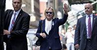 АКШнын президенттигине талапкер Хиллари Клинтон. Архив