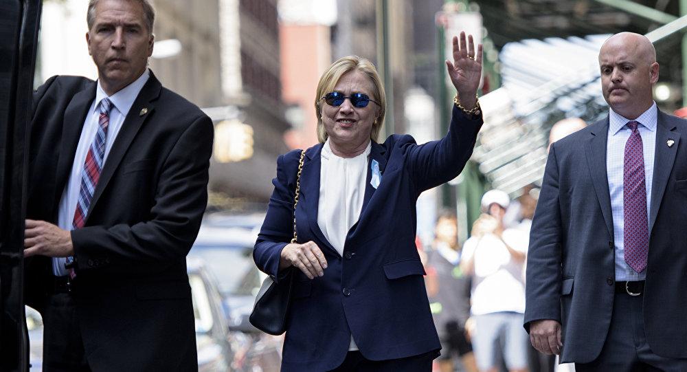 Трамп пожелал Клинтон побыстрее поправиться