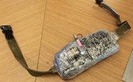 Пояс смертника, изъятый в ходе спецопераций. Архивное фото