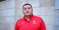 Кыргызстанец Жыргалбек Орозбаев, представляющий страну в состязаниях по пауэрлифтингу на Паралимпиаде в Рио-де-Жанейро. Архивное фото