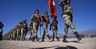 Военнослужащие Кыргызстана на учениях. Архивное фото