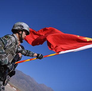 Китайские военносдужащие. Архивное фото