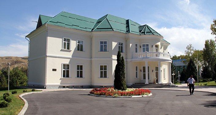 Дома в госрезиденции Ала-Арча. Архивное фото