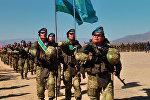 Солдаты стран ШОС чеканили шаг на открытии учений в Балыкчи