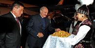 В Кыргызстан вечером 15 сентября прибыл президент Беларуси Александр Лукашенко в рамках саммита СНГ