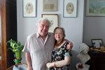 Александр Александрович и Мария Александровна праправнуки Пушкина, последний из прямых потомков, носящих фамилию русского классика, стал одним из основателей фонда имени своего предка.