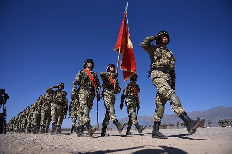 Военнослужащие Кыргызстана на военных учениях стран ШОС Мирная миссия в Балыкчи