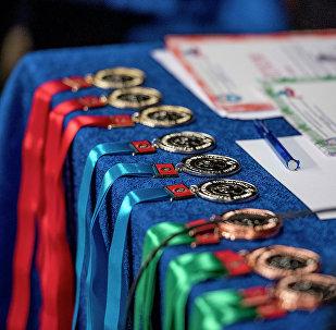 Спорттук медалдар. Архив