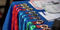 Спортивные медали. Архивное фото