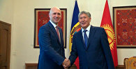 Президент КР и премьер Молдовы обсудили вопросы двусторонних отношений