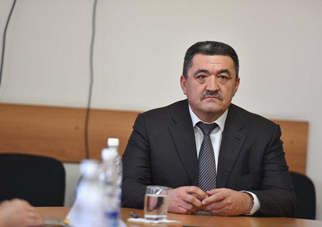 Мэр Бишкека Албек Ибраимов. Архив