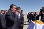 Тажик президенти Эмомали Рахмон Кыргызстанга келди