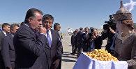 Салам алейкум! — прилет в Кыргызстан президента Таджикистана Эмомали Рахмона