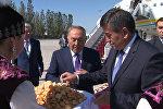 Нурсултан Назарбаев Кыргызстанга келди