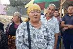 Тешик-таш базарында соода кылган Аламгүл Нурбаева
