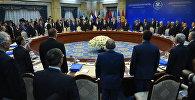 Минута молчания перед заседанией совета глав государств участников СНГ