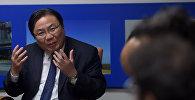 Вице-президент Азиатского банка развития (АБР) Чжан Вэньцай. Архивное фото