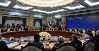 Заседание Совета глав государств – участников Содружества Независимых Государств в расширенном составе в Бишкеке.