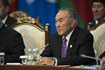 Казакстан президенти Нурсултан Назарбаевдин архивдик сүрөтү