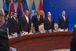 Бишкектеги КМШ жыйынында Атамбаев президенттерди Каримовду эскерүүгө чакырды