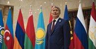 Алмазбек Атамбаев КМШ мамлекеттеринин кеңейтилген отурумунда. Архив