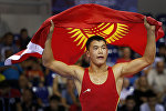 Спортсмен по греко-римской борьбе Акжол Махмудов