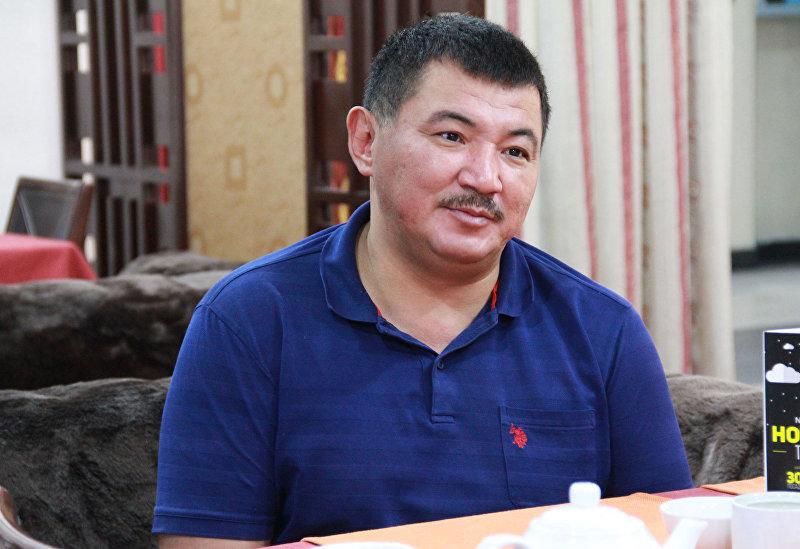 Заслуженный артист Кыргызской Республики, певец Бек Борбиев. Архивное фото