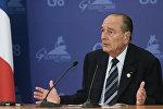 Франциянын экс-президенти Жак Ширак. Архив