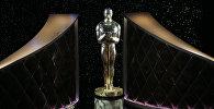 Статуя Оскара на сцене. Архивное фото