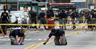 Взрыв в районе Челси на Манхэттене, Нью-Йорк (США). Архивное фото