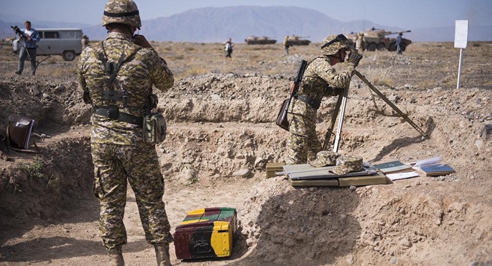 Научения ОДКБ «Поиск-2017» изТаджикистана прибыли 20 военнослужащих