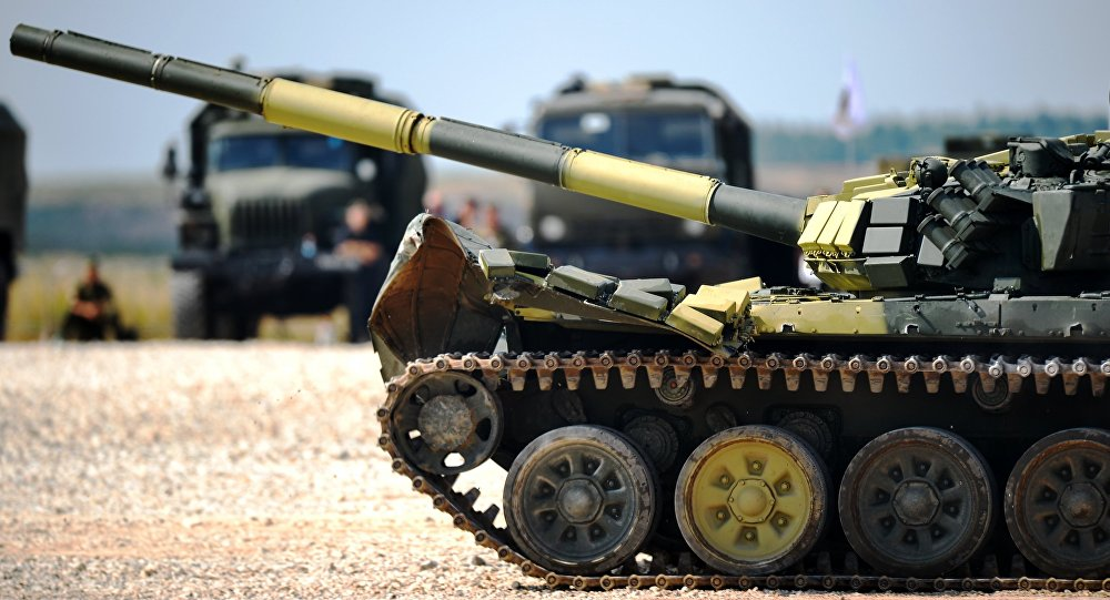 фото танка дуло