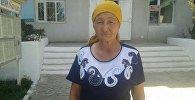 Баткен районунун Көк-Таш айыл өкмөтүнүн Ак-Сай айыл башчысы Разия Өсөрованын архивдик сүрөтү