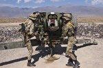 Военнослужащие во время международных антитеррористических учений. Архивное фото