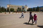 Нарын шаары. Архивдик сүрөт